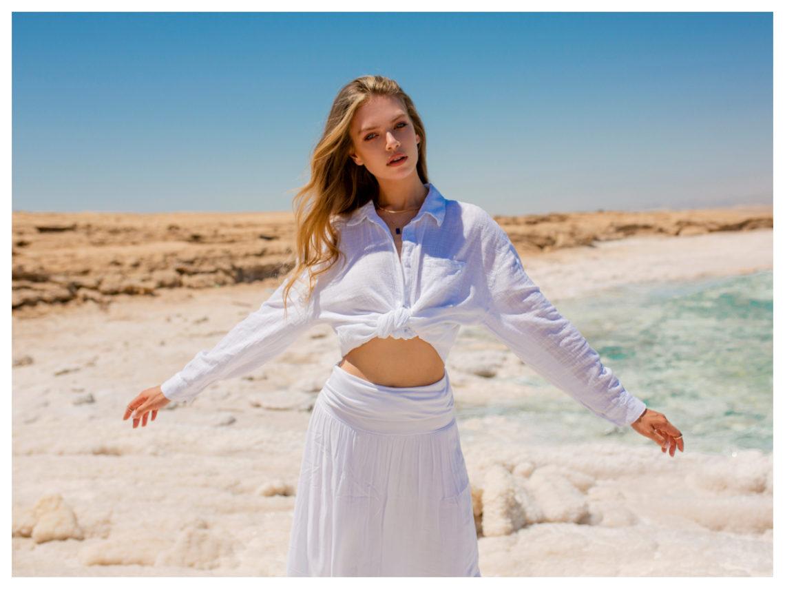 Klasyczne koszule damskie białe